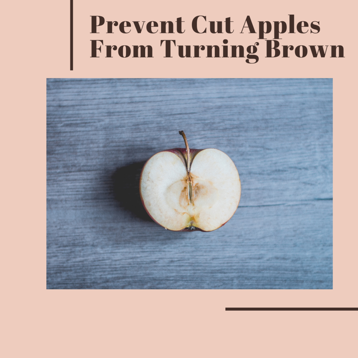 Cut apples don't have to turn brown. Learn how to keep them looking fresh!