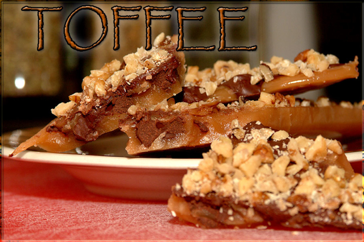 Crispy Butter Toffee, A Really Easy Recipe