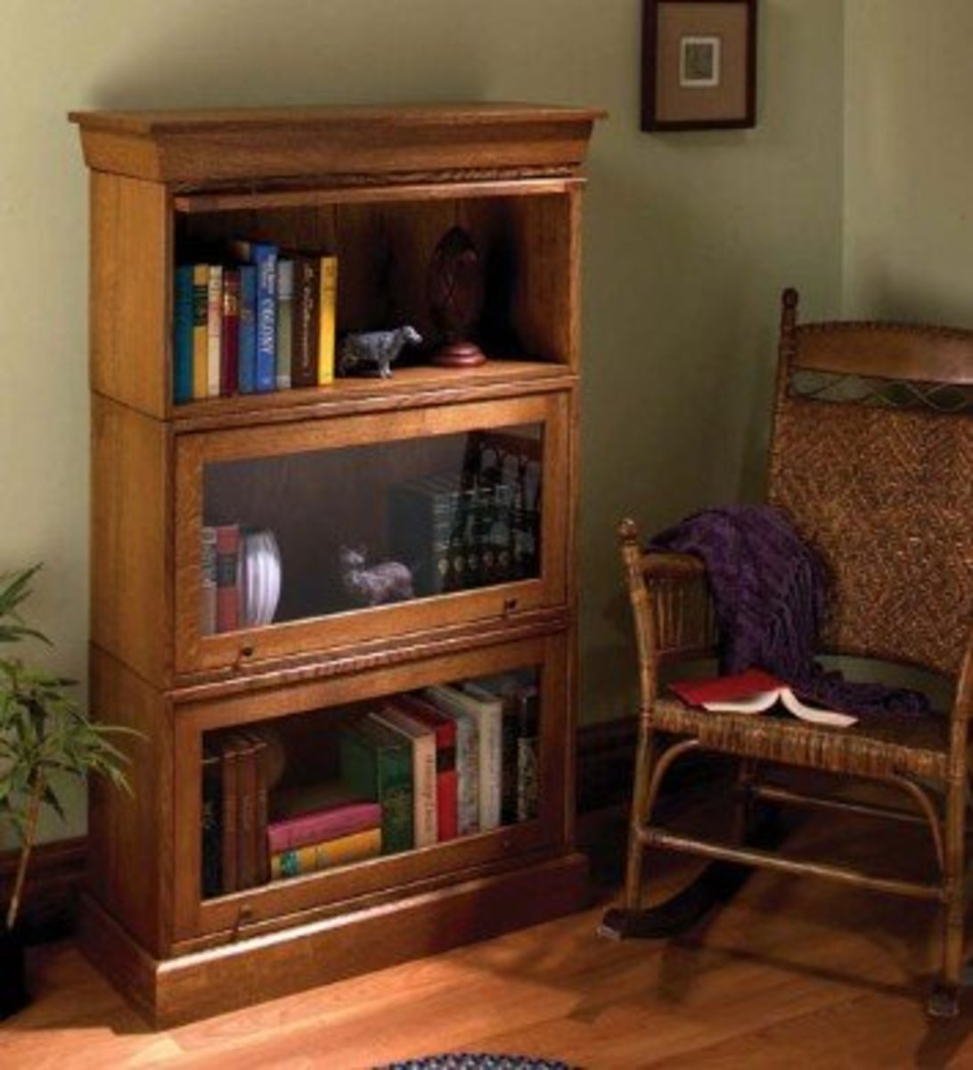 Simple Barrister Bookcase