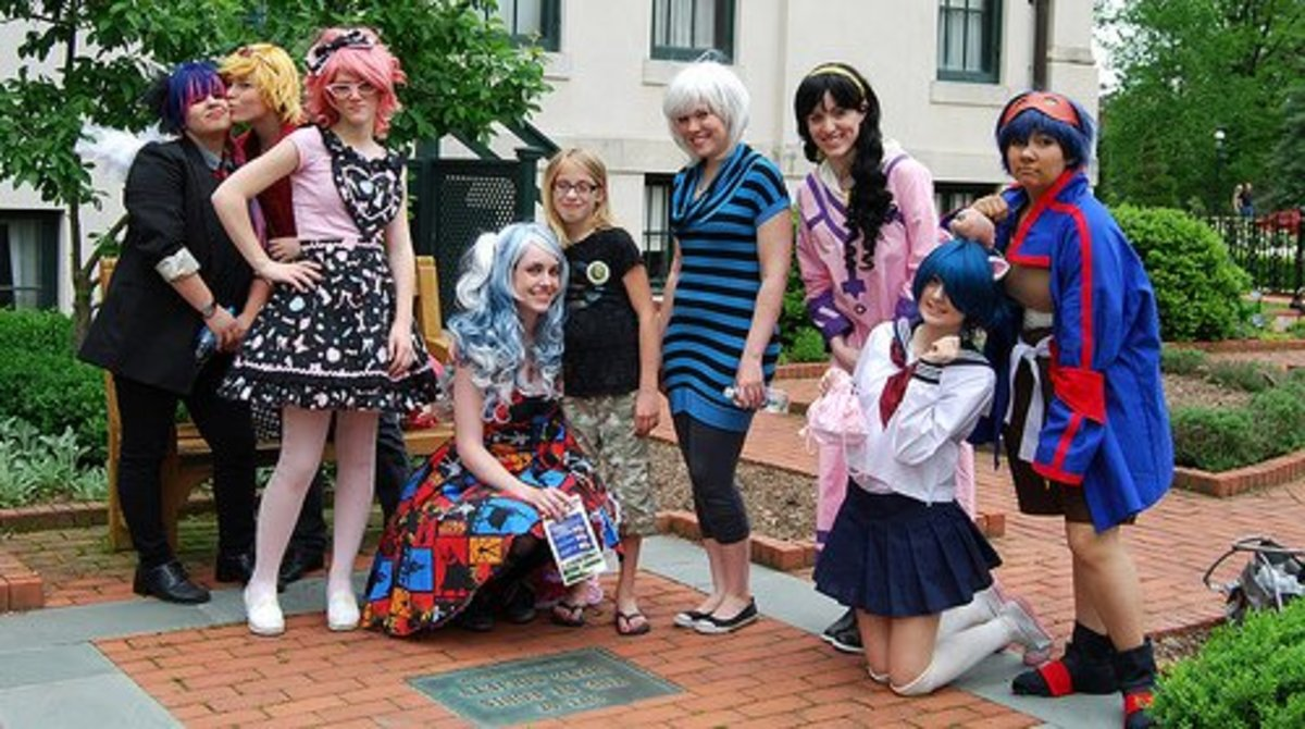 This picture is a group of cosplayers from ACEN 2012, and I think it exemplifies the spirit of individuality that goes with being an otaku.