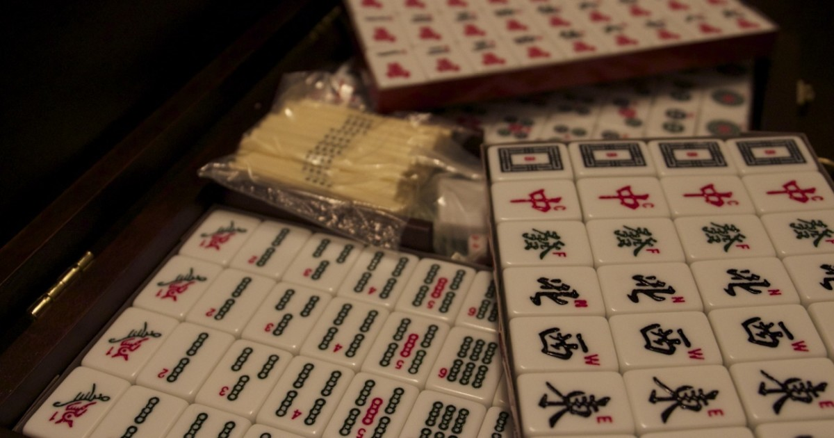 Simple Mahjong Rules for Three or Four Players