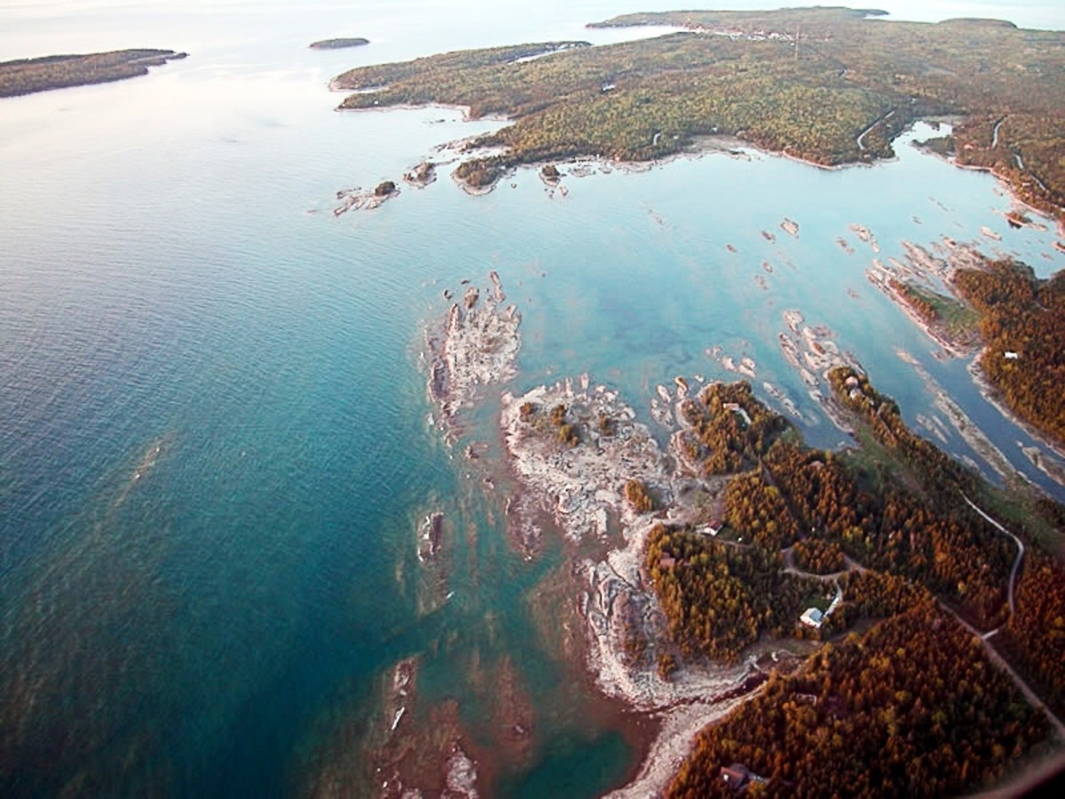 Lake Huron has been found to contain a significant concentration of brominated flame retardants.