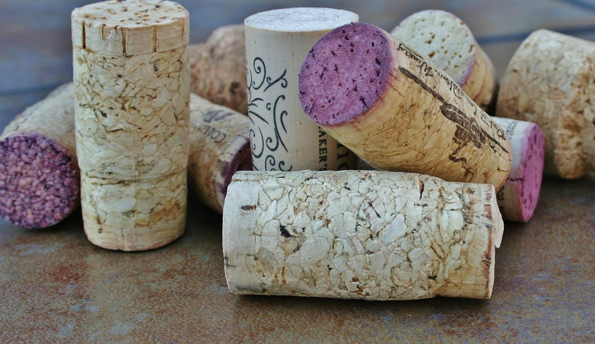 Wine corks form the basis for lots of fun and easy craft projects.