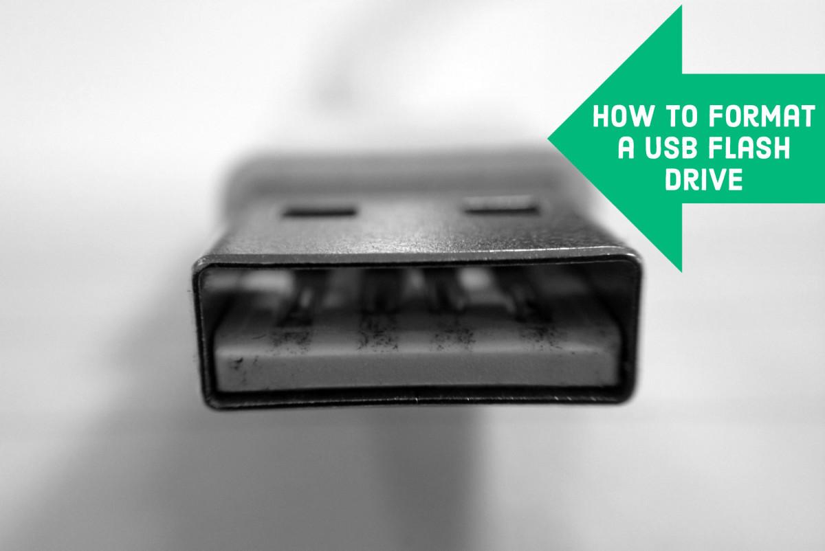 Formatting A Usb Flash Drive Using Fat Fat32 Ntfs Exfat