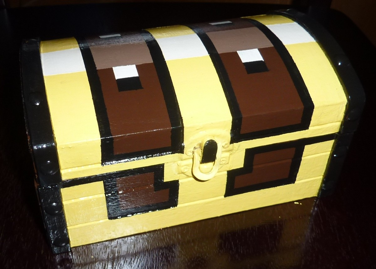 How to Make a Legends of Zelda Treasure Chest