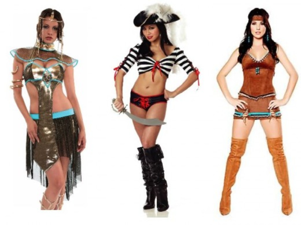 Historical Halloween Costumes Men vs. Women