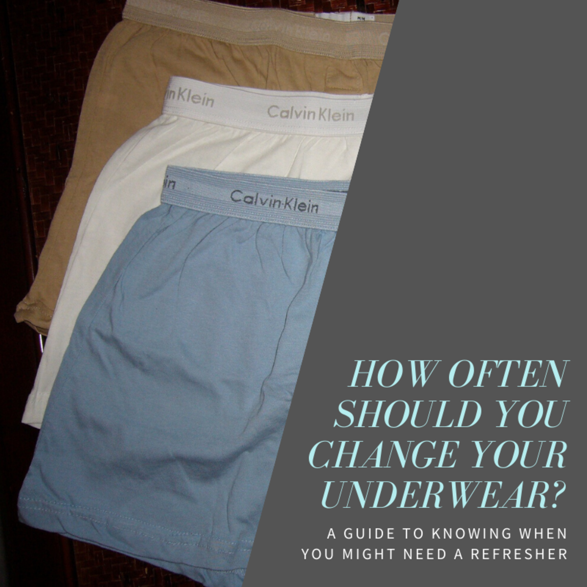 This article will break down what factors to consider when thinking about how often you should change your underwear.