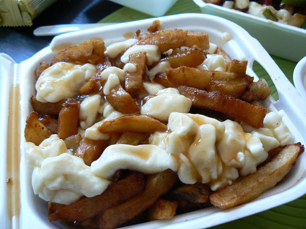 Poutine from ''La Banquise'' in Montreal. Used under the Creative Commons Attribution 3.0 licence.