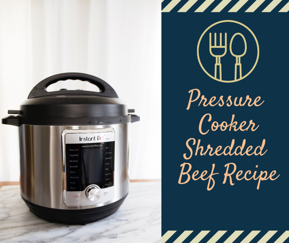 Pressure cookers are truly wonderful. This shredded beef recipe certainly proves it!