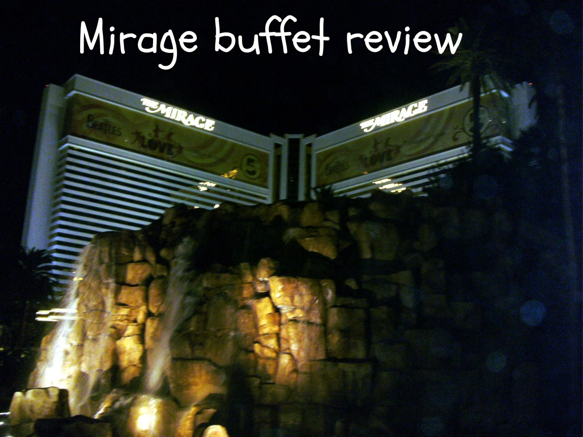 The Mirage casino houses the Cravings Buffet, being reviewed here.