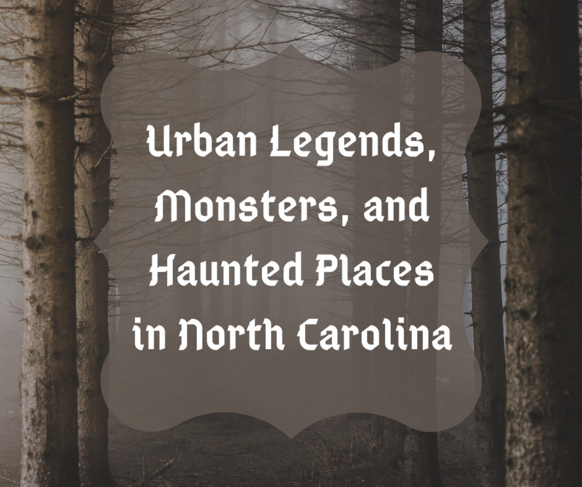 Read on to learn about all the different urban legends, monsters, and haunted places in North Carolina.