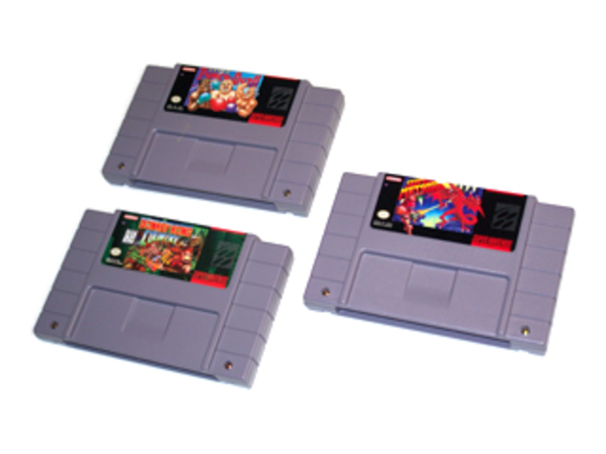 The Best Way to Clean SNES Games