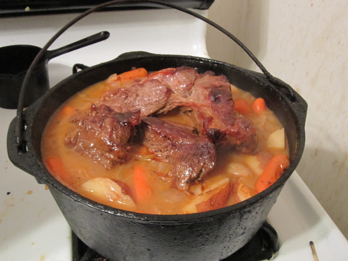 How to Cook Pot Roast in a Cast-Iron Dutch Oven