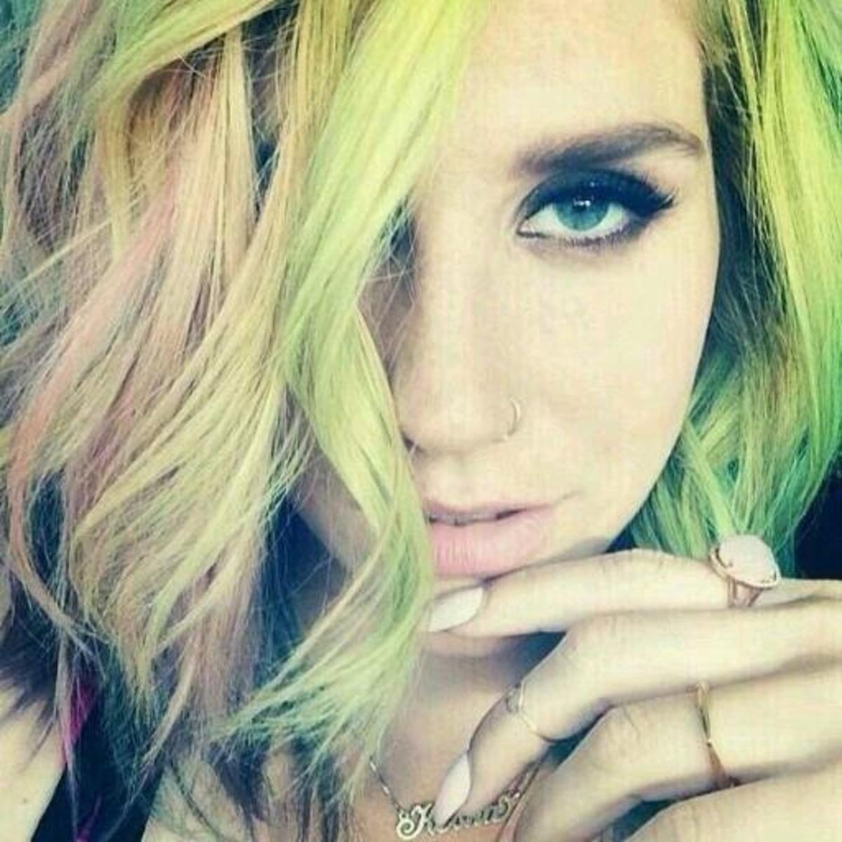 Kesha is moving away from her party girl image and has dropped the $