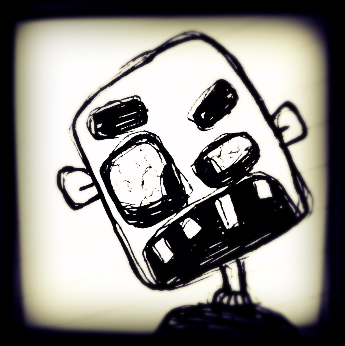Zombie Face Drawings Easy