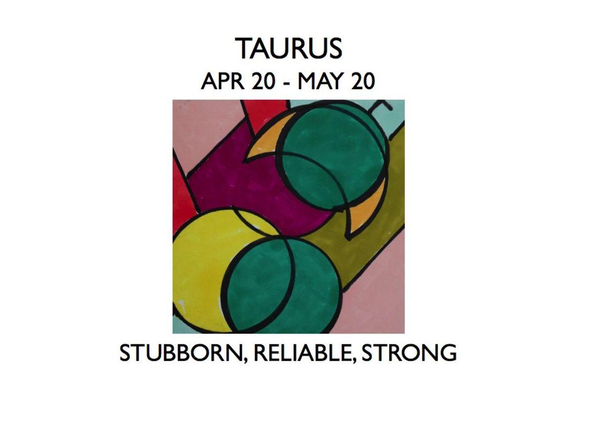 Taurus With Moon Signs (Aries Through Virgo)