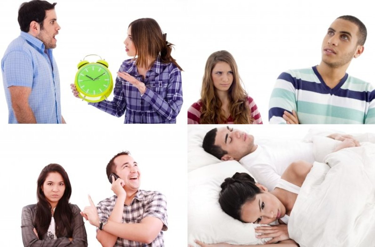 Traits, Characteristics, and Behavior of Lazy and Selfish Husbands