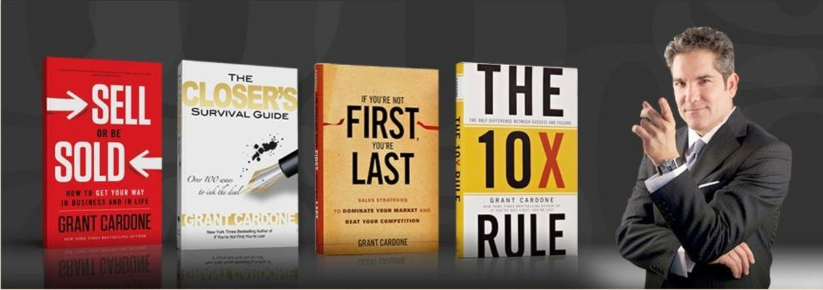 Grant Cardone Books - Professional Sales Strategies for Massive Success