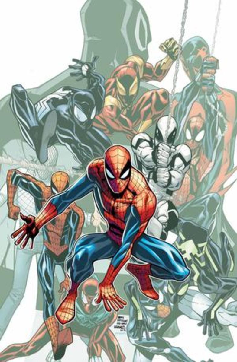 Spiderman Costume History