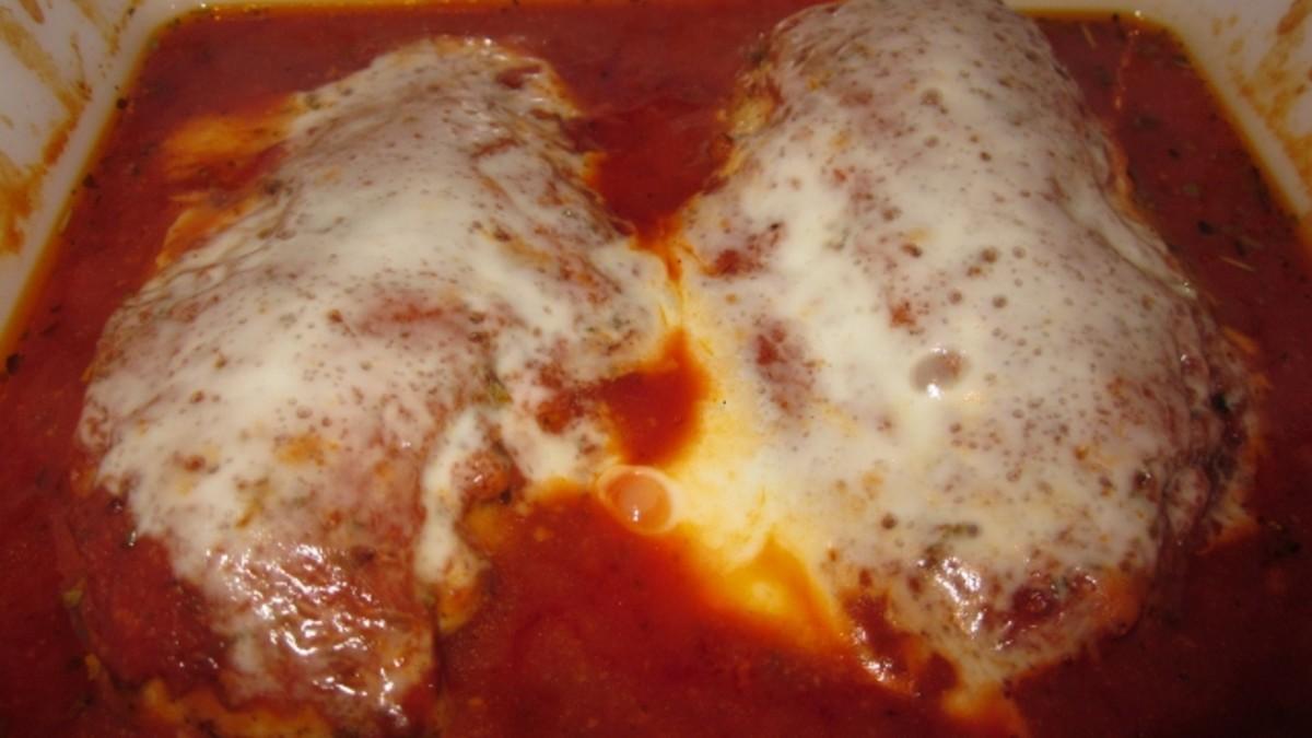 Easy Chicken Breast Italian Recipe   Easy Romantic Dinner for Two