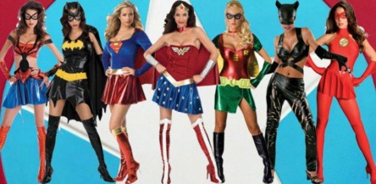 Superheroine Halloween Costumes