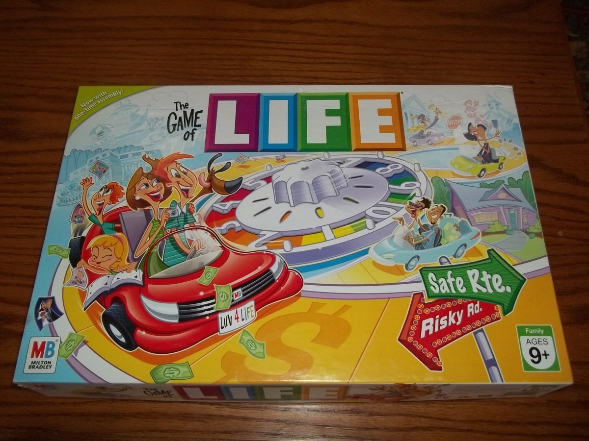The Game of Life: Board Game History and Review