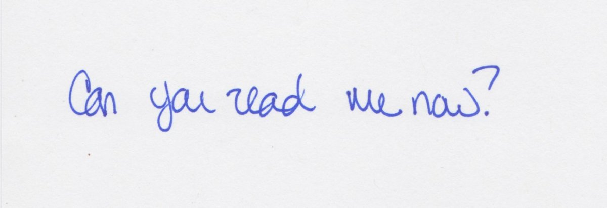 Handwriting tips for adults
