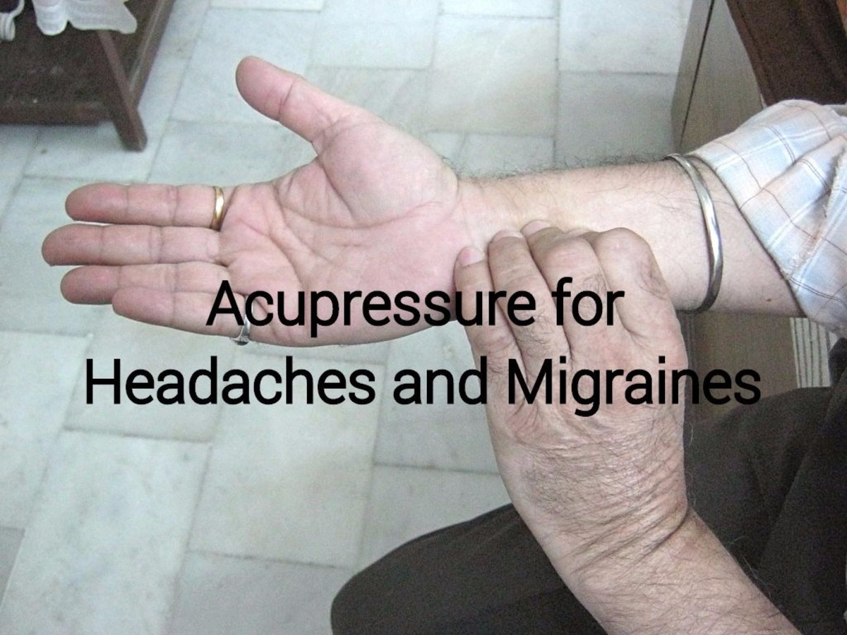 Acupressure for Headaches and Migraines