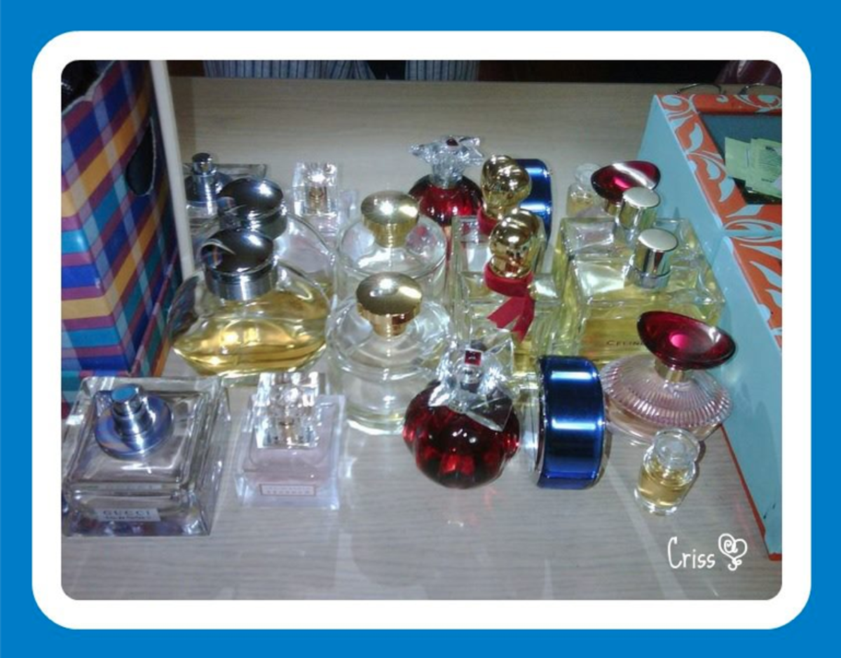 Perfumes: Not a day Without You!