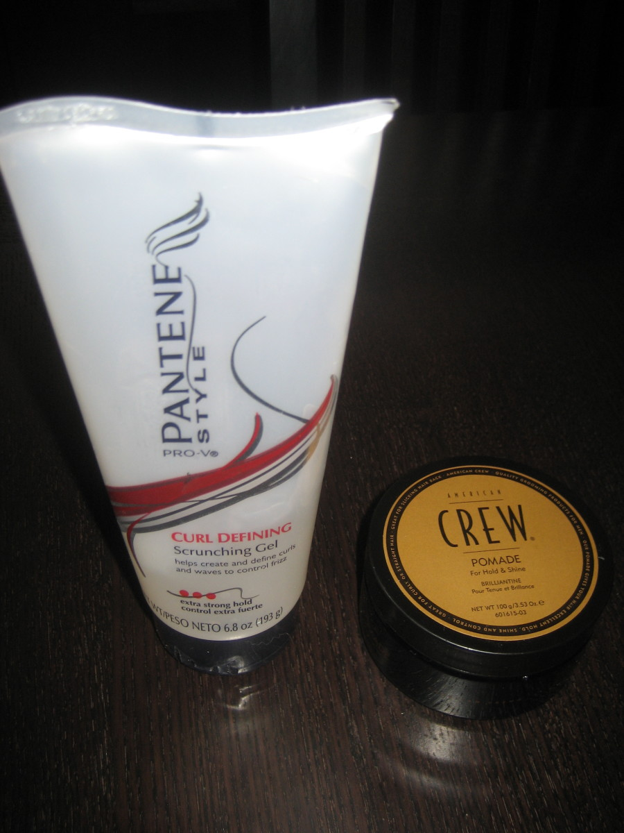 Hair styling gels come in many forms for different levels of hold to the hair.
