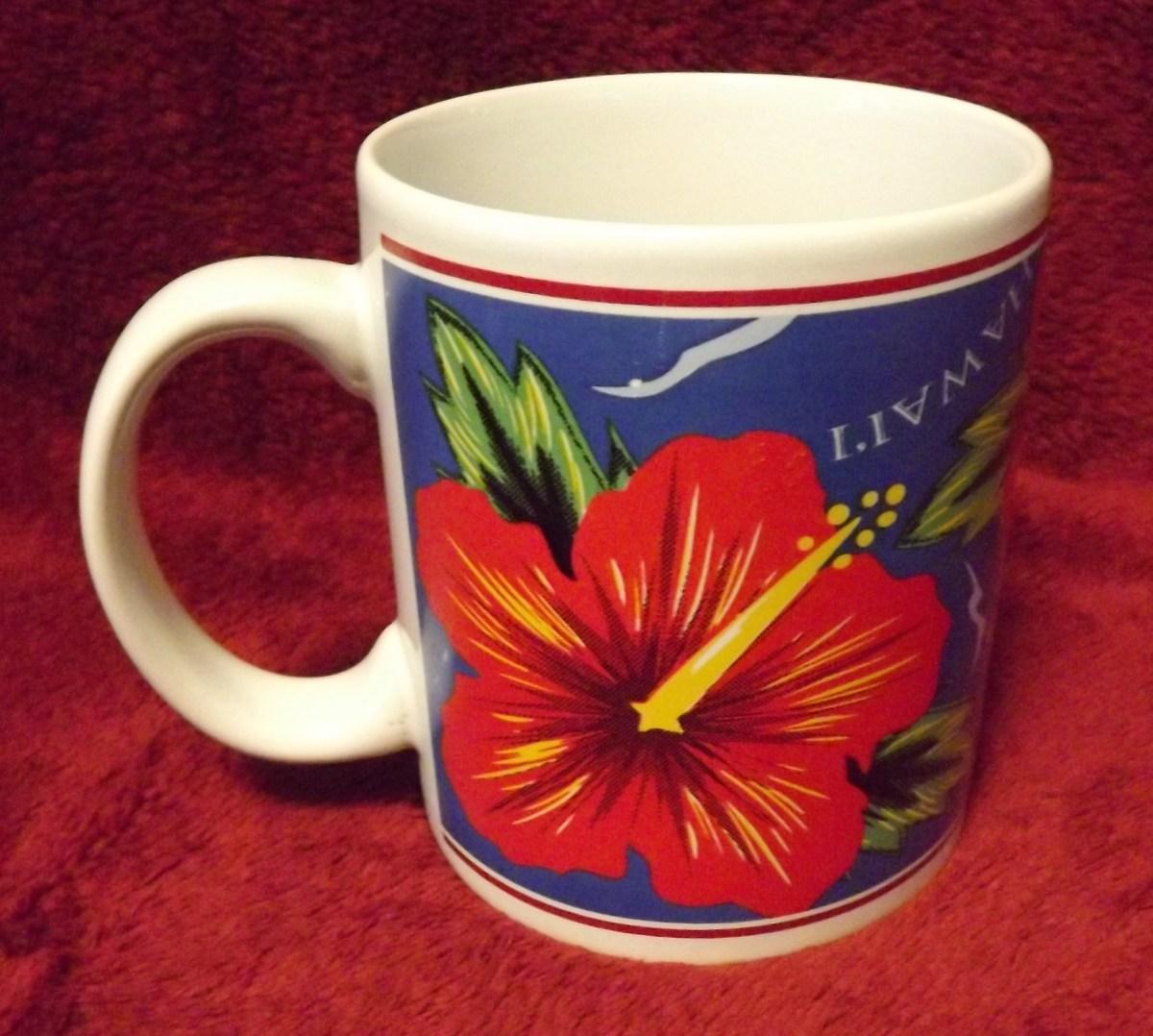 Hilo Hattie Hibiscus Mug