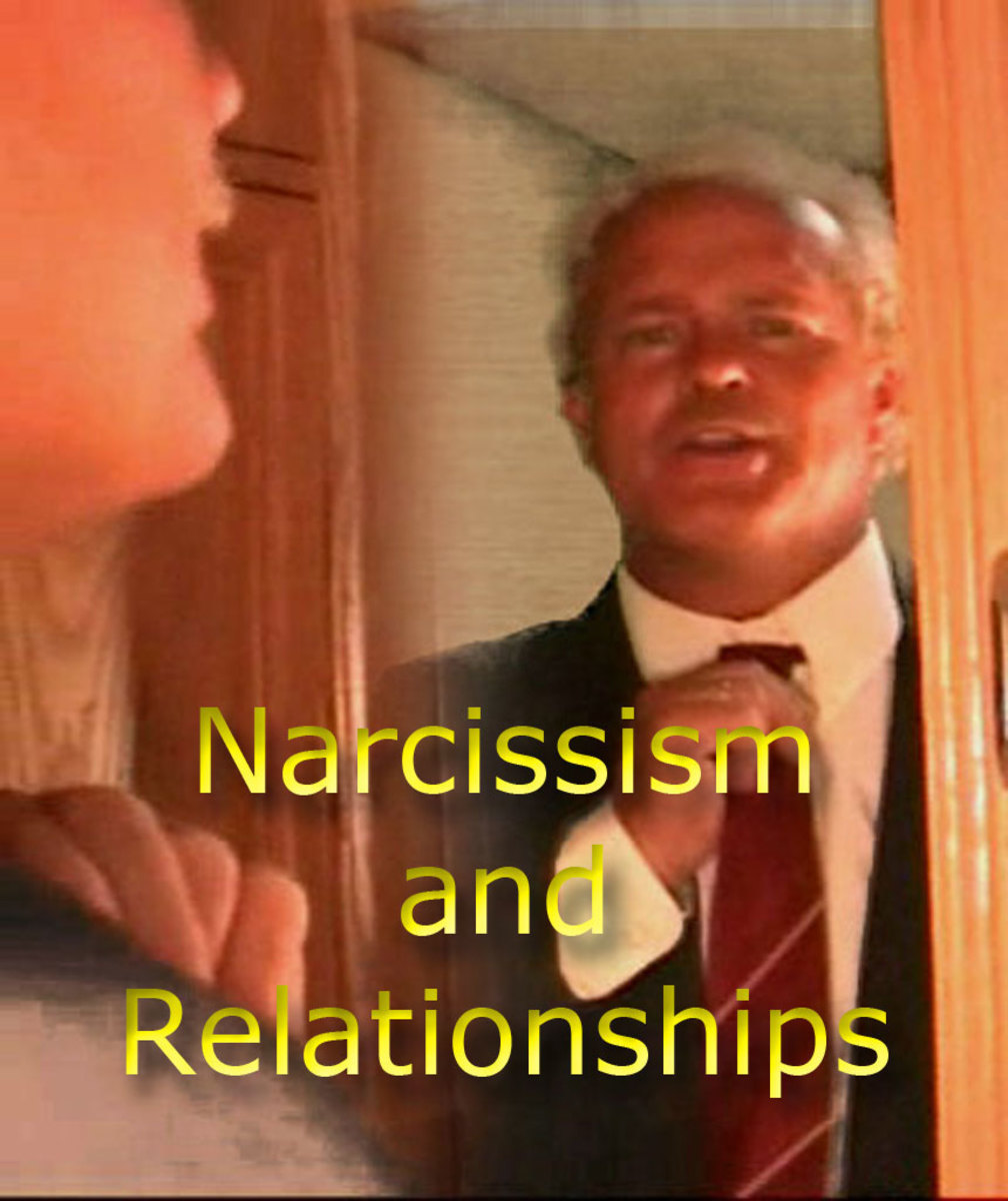 leaving a narcissistic man