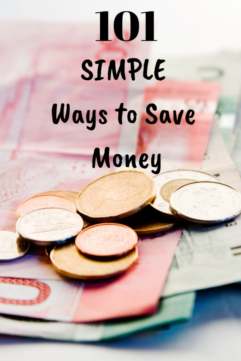 101 Simple Ways to Save Money