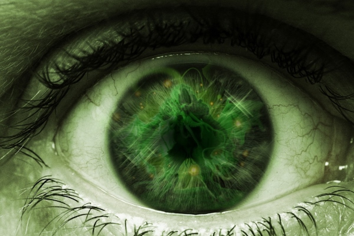 We gaze at what we covet with a green eye of envy.