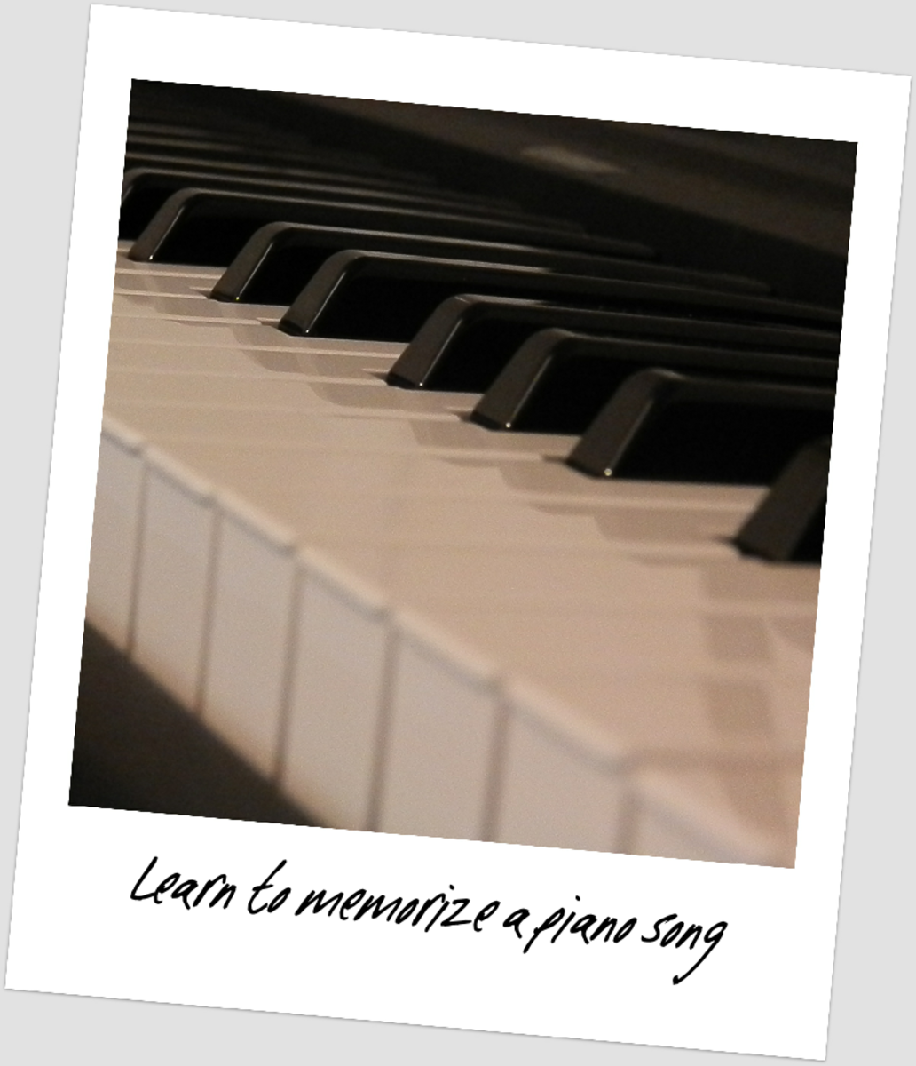 Tips on Memorizing Piano Songs