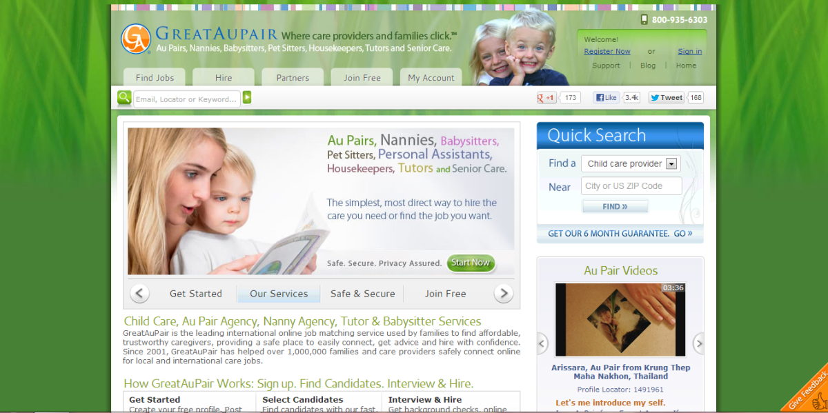 Great AuPair Review: A Review of the AuPair and Nanny Agency