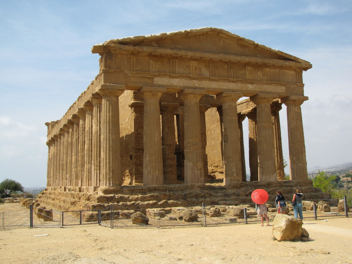Visiting the Valley of the Temples:  Agrigento, Sicily