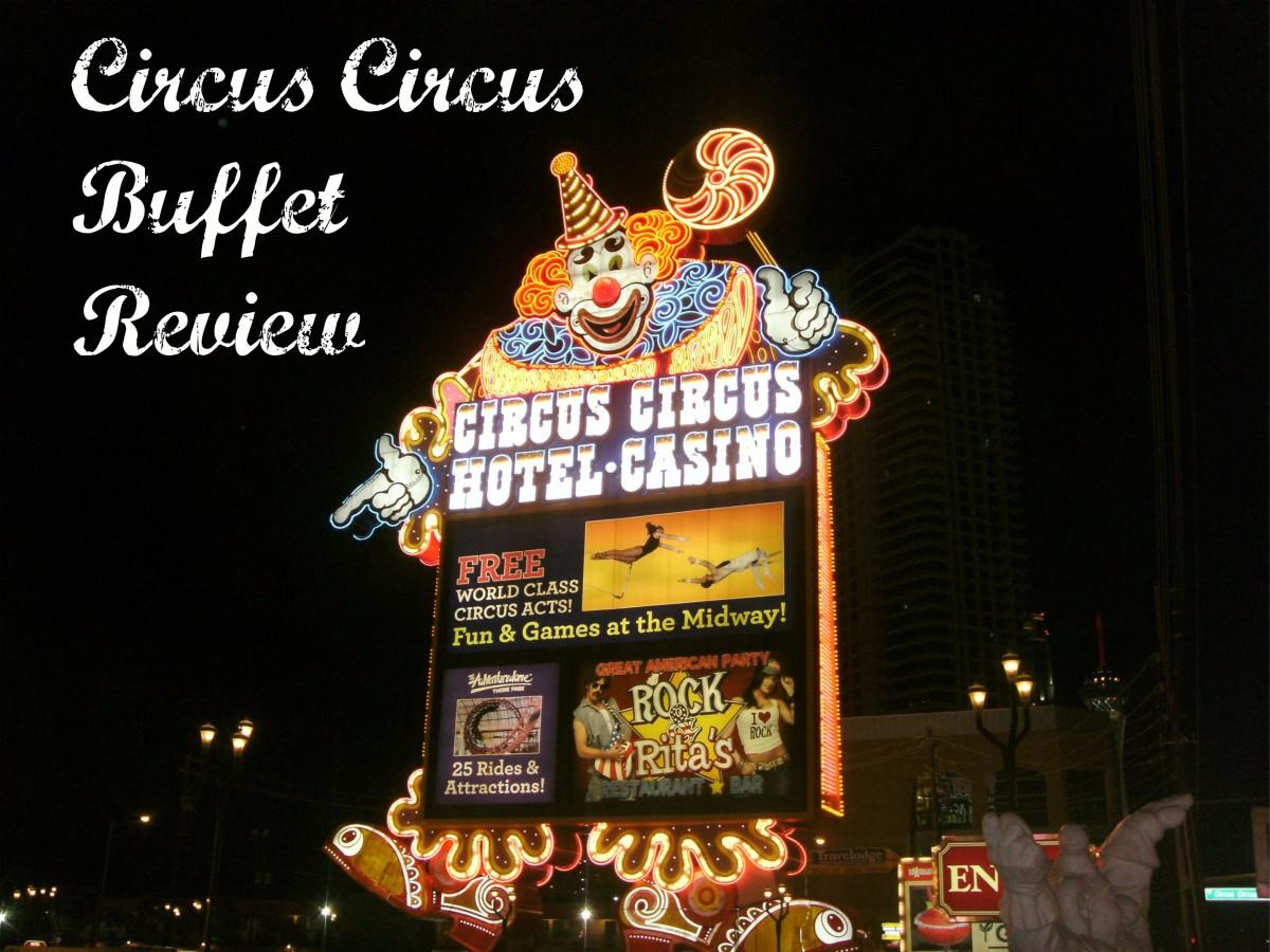 Entrance sign to Circus Circus in Las Vegas