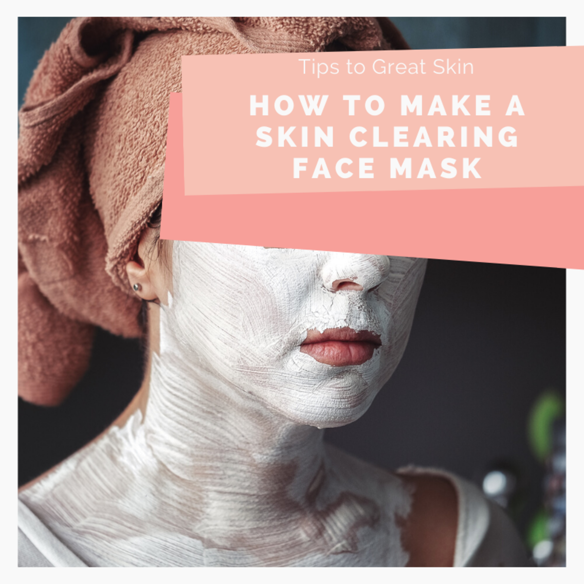 There are so many options for making your own skin clearing face mask. Learn about them in this article.
