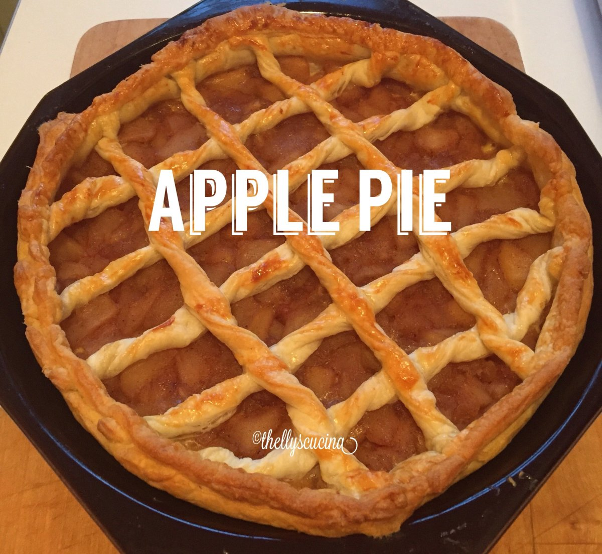 How to Make an Apple Pie With Filo Pastry Crust