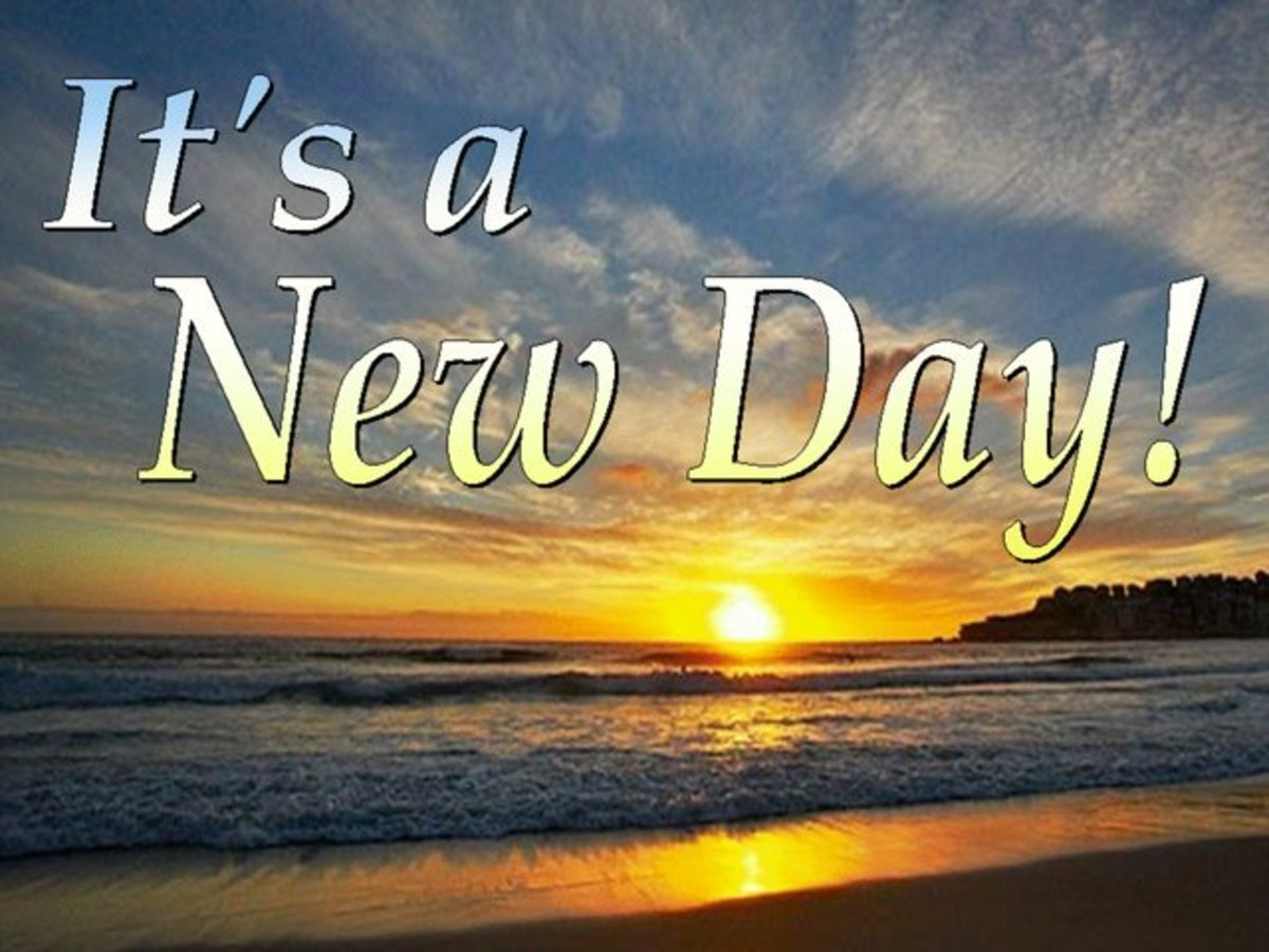 Enjoy your new day!