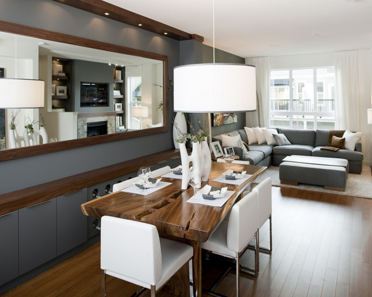 How to Decorate and Create Spaces in an Open Floor Plan ...