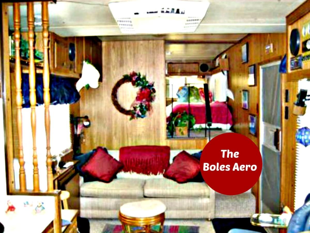 Boles Aero RVs were beautiful, sturdy and a pleasure to own.