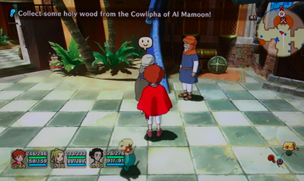Ni no Kuni walkthrough, Part Forty-Two: Perdida Errands and Bounty Hunts