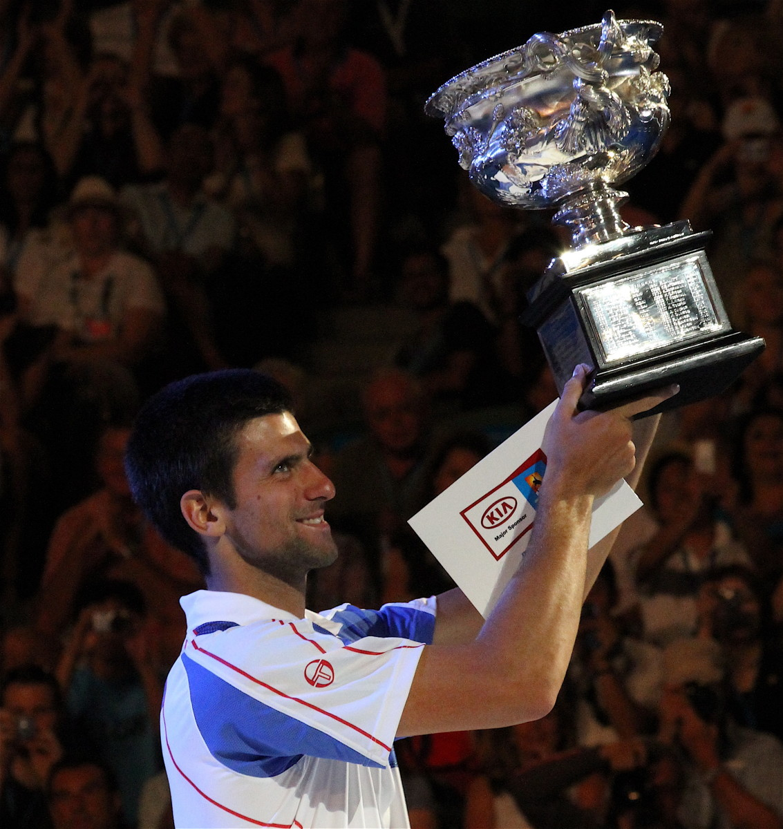 Novak Djokovic:  2013 Australian Open Champion