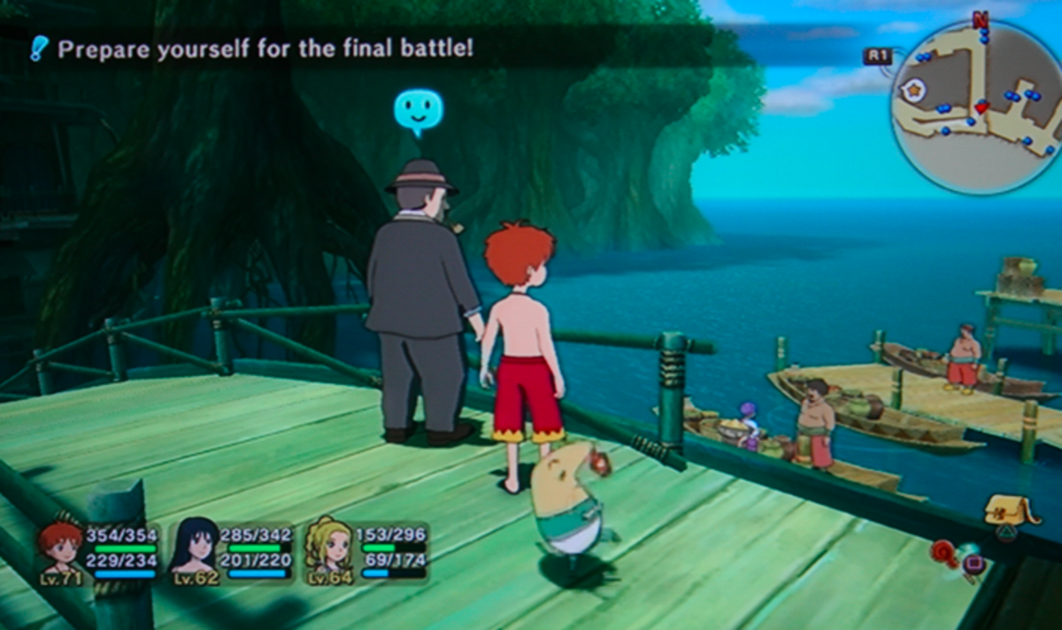 Ni no Kuni walkthrough, Part Fifty-Two: Nazcaa Errands and Bounty Hunts