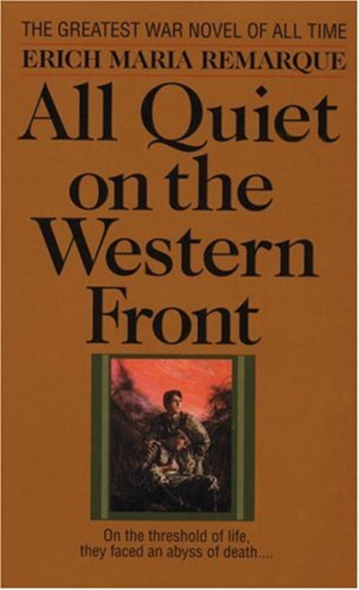the settings and plot review of erich maria remarques all quiet on the western front
