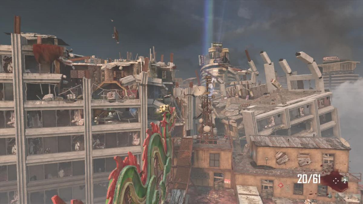 Die Rise takes place in three sky scrappers.