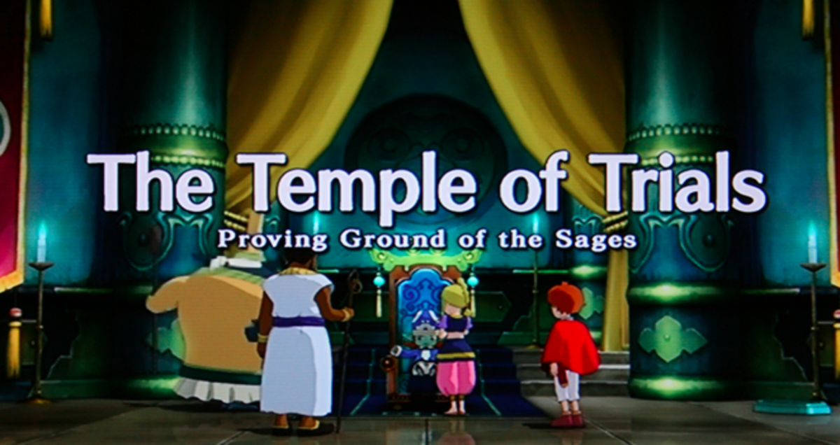 Ni no Kuni Walkthrough, Part Thirteen: The Temple of Trials