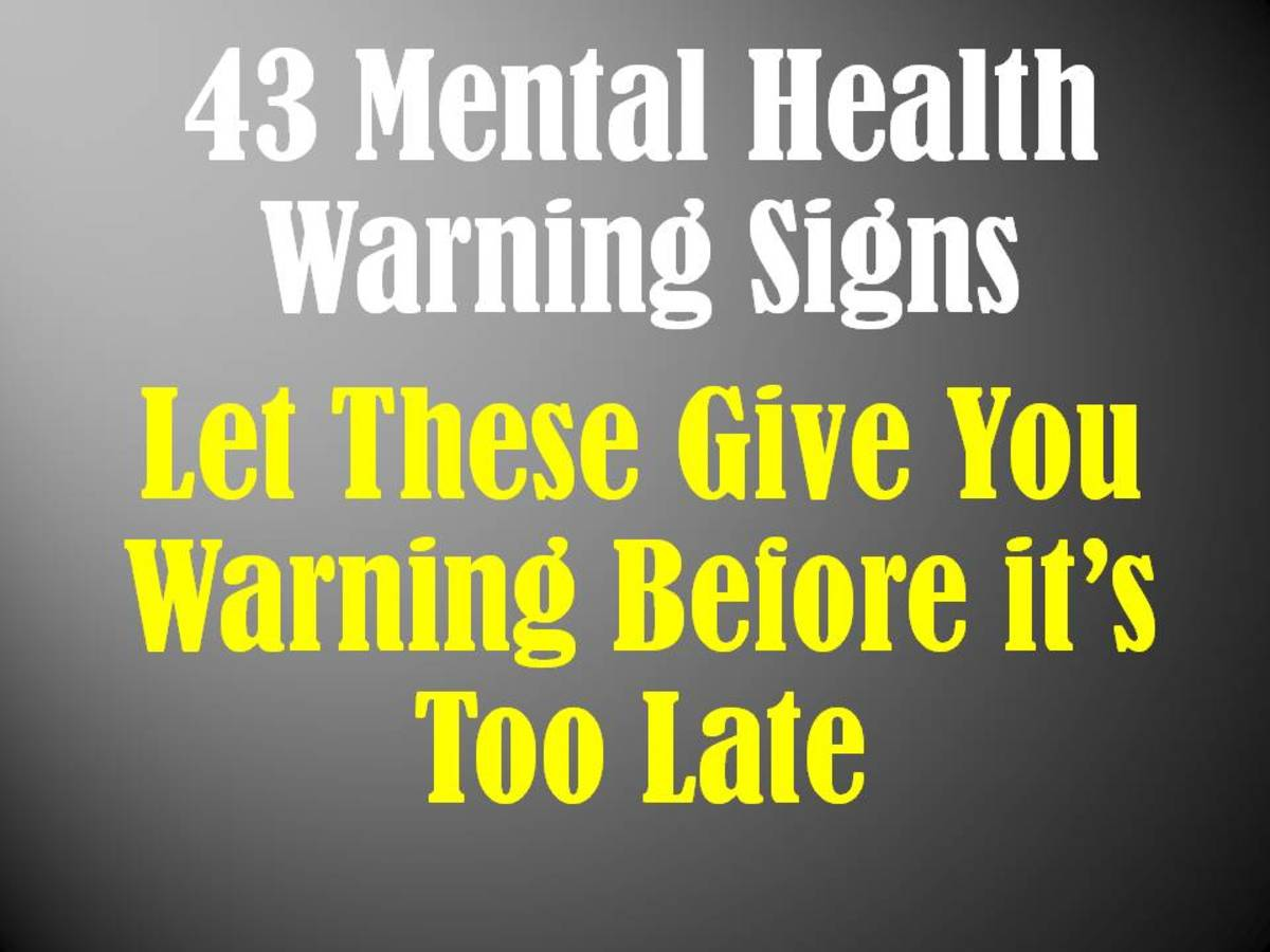 43 Mental Health Warning Signs to Recognize